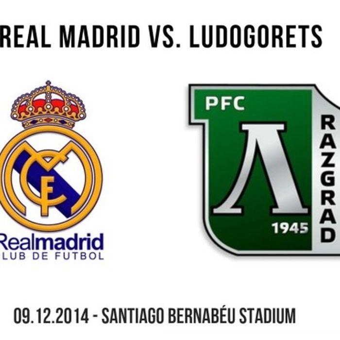 Реал Мадрид - Лудогорец