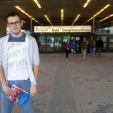 Преживяването на Делян в TU Delft