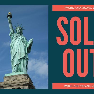 Work and Travel 2021 - SOLD OUT