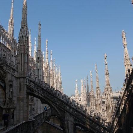 Петя в Милано