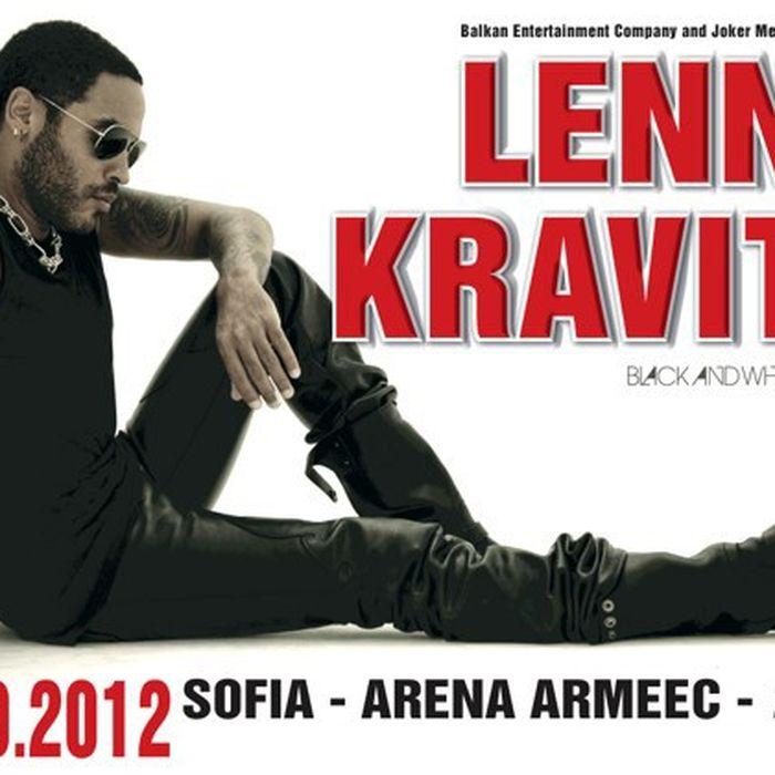 Lenny Kravitz Sofia 2012