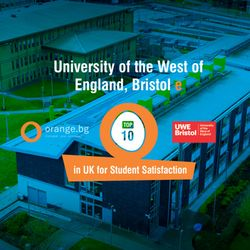 Индивидуална среща с UWE Bristol